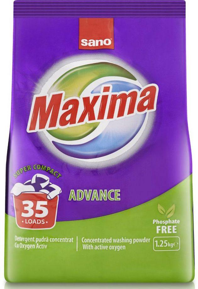 SANO Maxima Advance универсальный стиральный порошок 1,25 кг