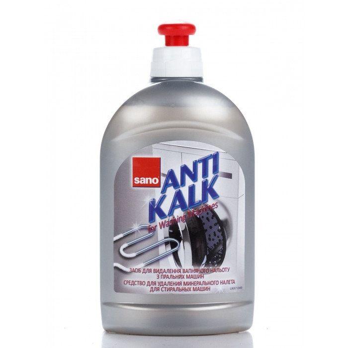 SANO Antikalk Средство для удаления накипи в стиральных и посудомоечных машинах 500 мл
