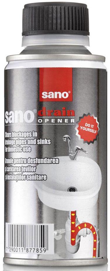 SANO Drain Opener Средство для прочистки засоренных канализационных труб 200 гр