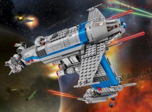Конструктор Lari Звездные войны Бомбардировщик Сопротивления 10914 (75188) 810 дет