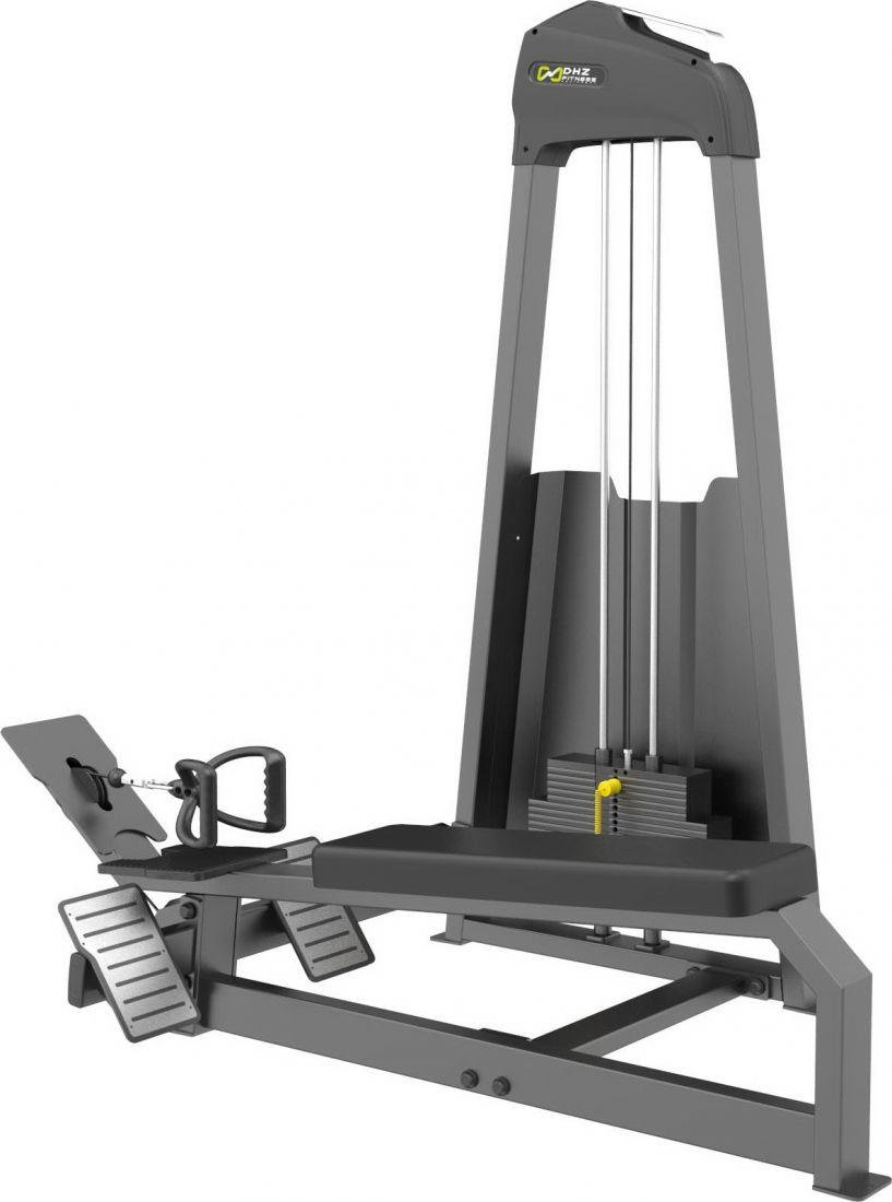 E-3033 Гребная тяга. Горизонтальный блок (Long Pull). Стек 109 кг.