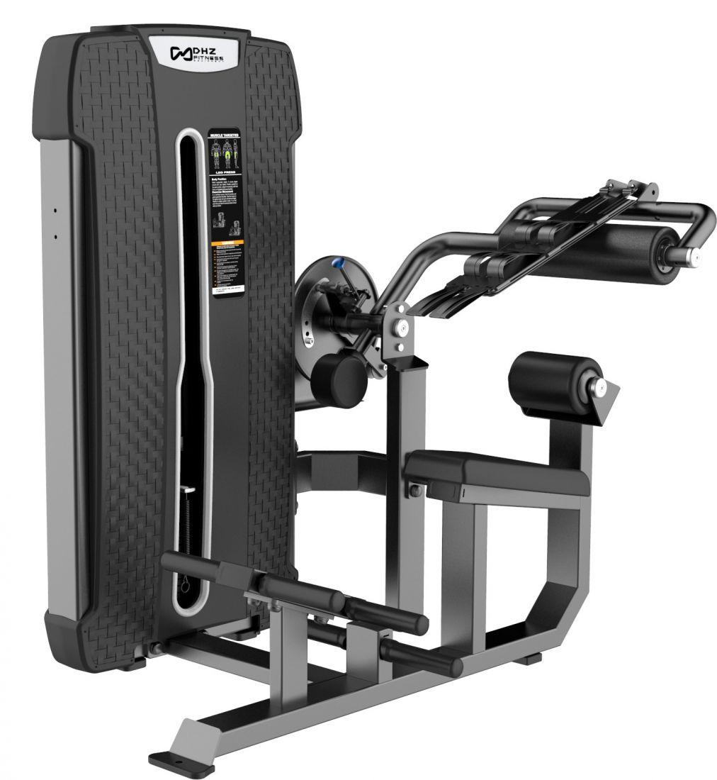 E-4088A Пресс машина/Разгибание спины Abdominal Isolator & Back Extension. Стек 94 кг.