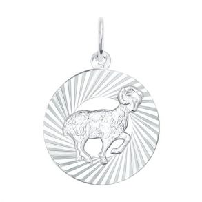 Подвеска «Знак зодиака Овен» из серебра 94030882 SOKOLOV