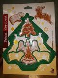 Мультиформочка рождественская DELICIA 630899