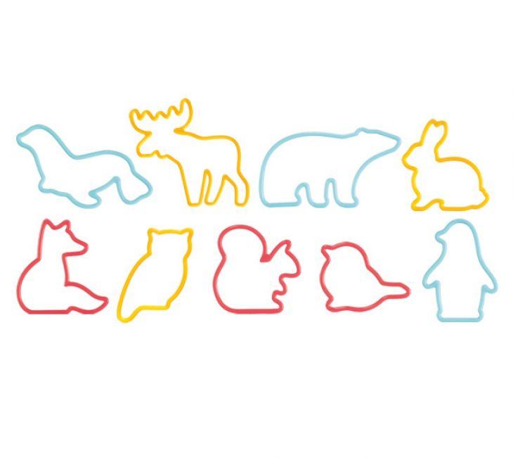 Формочки в виде животных DELICIA KIDS 9 шт 630929