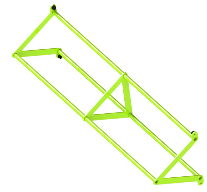 Перекладина треугольная d32/32/32, ZSO-1800