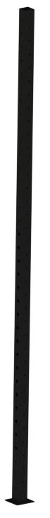 Стойка перфорированная 80х80, ZSO-3680