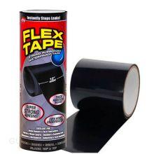 """Сверхсильная клейкая лента Flex Tape (Флекс Тайп), 12"""" (25х30 см), Чёрный"""