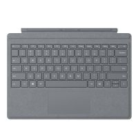 Клавиатура Microsoft Surface Go Signature Type Cover материал Alcantara (Platinum)