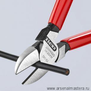 Кусачки фосфатированные (БОКОРЕЗЫ) 140 мм KNIPEX 70 01 140SB