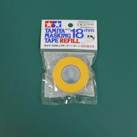 Маскирующая лента шир. 18 мм в рулоне
