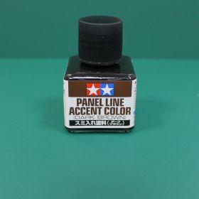 Краска для финальной отделки моделей (смывка,темно-коричневая 40мл) Уже разведенная с эмал. растворителем. Коричневая идеальна для бронетехники.