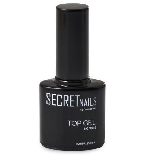 Топ без липкого слоя SECRETnails Top gel - 10 ml (продукция компании Космопрофи)