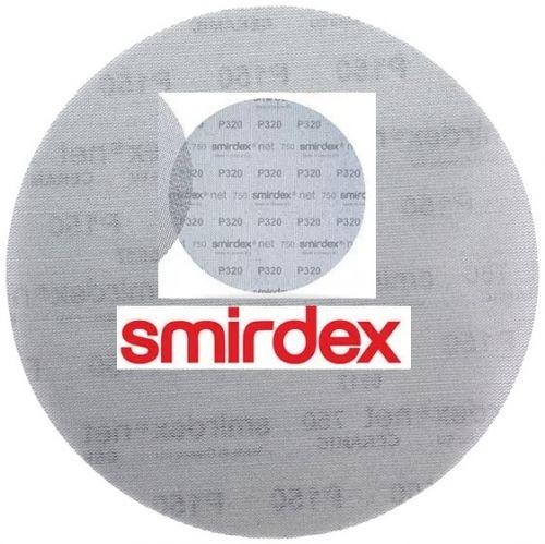 Абразивный круг сетка SMIRDEX Net P150 225 мм Velcro Discs 750