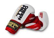 Перчатки боксерские Green Hill Legend BGL-2246 красно-белые