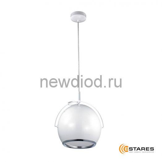 Подвесной светодиодный светильник CDD16W AC220V Белый матовый корпус (Теплый белый)