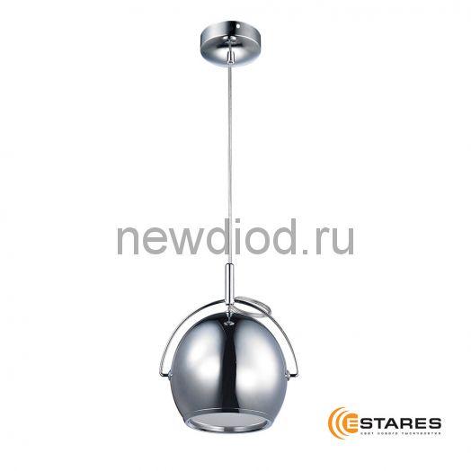 Подвесной светодиодный светильник CDD16W AC220V Хром корпус (Теплый белый)