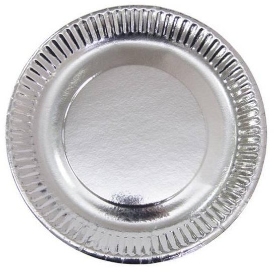 Тарелки серебряные малые