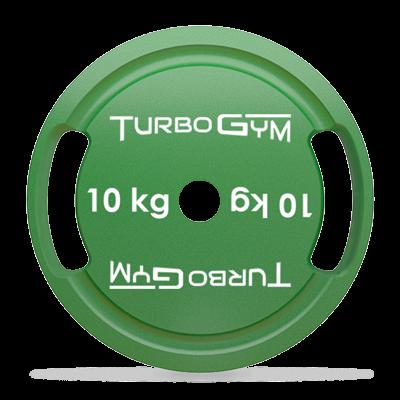 Диск стальной для пауэрлифтинга 10 кг Turbogym