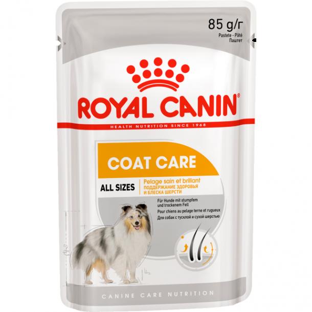Консервы Royal Canin Coat Beauty Pouch Loaf паштет для собак с тусклой и сухой шерстью 85 г