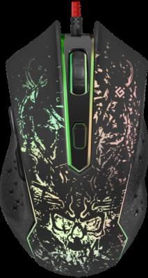 НОВИНКА. Проводная игровая мышь Demoniac GM-540L оптика,6кнопок,3200dpi