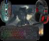 Игровой набор Target MKP-350 мышь+клавиатура+гарнитура+ков.