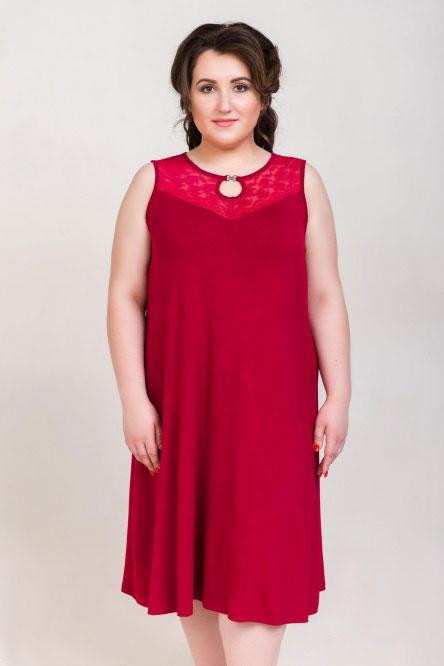 Ночная сорочка арт.0336-87 амарант, вискоза