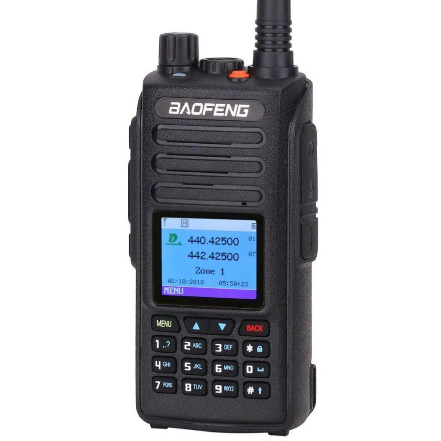 Рация Baofeng DM-1702 GPS Tier-2 цифровая VHF/UHF