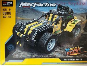 Конструктор DECOOL Technic Внедорожный гонщик  3806 (Аналог LEGO Technic) 392 дет