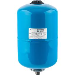 Расширительный бак 12 л., гидроаккумулятор вертикальный (цвет синий)