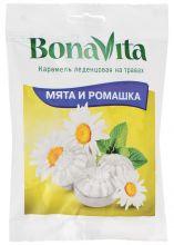 "Карамель леденцовая Bona Vita ""Мята и ромашка"" на травах 60 гр."