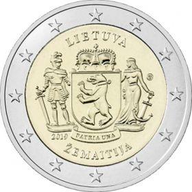 Жемайтия 2 евро  Литва 2019