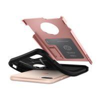 Купить оригинальный чехол Spigen Tough Armor 2 для iPhone 7 Plus розовое золото противоударный чехол для Айфон 7 Плюс в Москве в интернет-магазине аксессуаров для смартфонов Elite-Case.ru
