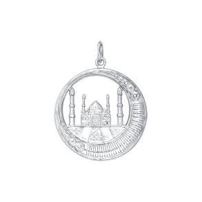 Серебряная мусульманская подвеска «Мечеть» 94030696 SOKOLOV