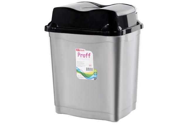 """Контейнер для мусора """"Proff"""" 9 л Эльф"""