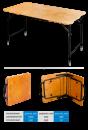 Стол походный складной (фанера) 1000*500*480 ПСТ