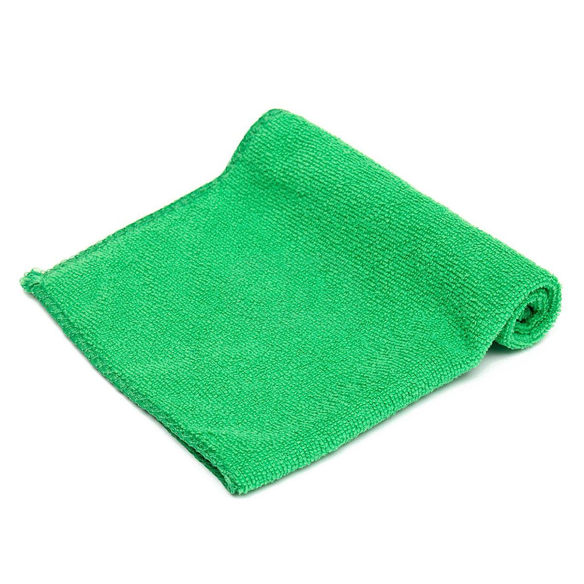 Тряпка для пола из микрофибры М-02-F-XXL зелёная 100*80 см. Рыжий кот