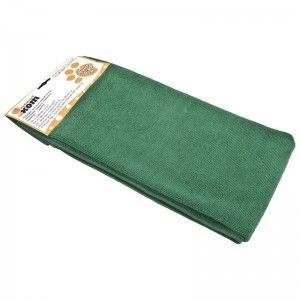 Тряпка для пола из микрофибры 70*80см M-02F-XL зеленая Рыжий Кот