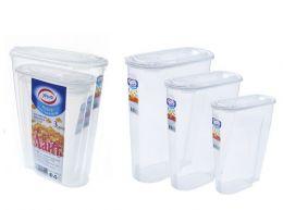 Набор контейнеров для сыпучих продуктов 2л, 3л, 5л.Набор контейнеров для сыпучих продуктов 2л, 3л, 5л.