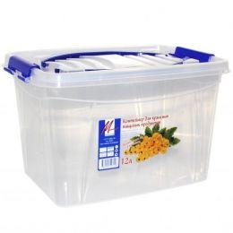 Контейнер для пищевых продуктов с ручкой 12л.