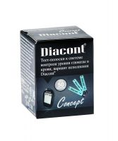 Тест-полоски Diacont Concept № 50