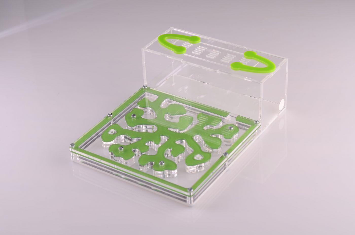 Муравьиная ферма Зелёная ( муравьи в комплекте)