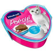 Vitakraft POESIE Консерва для кошек в желе лосось и шпинат, 85г