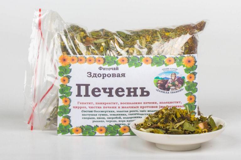Сбор трав Алтая «Для печени»