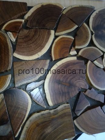 W01 Мозаика серия WOOD  (Happy Mosaic)
