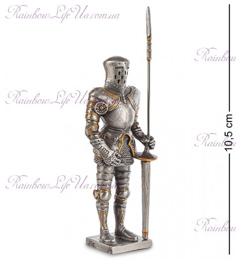 """Статуэтка рыцарь с копьем """"Veronesе"""""""