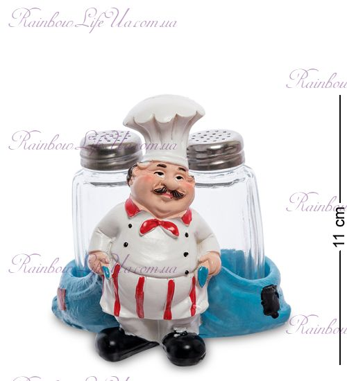 """Фигурка повар с мешками с солонкой и перечницей """"HF"""""""