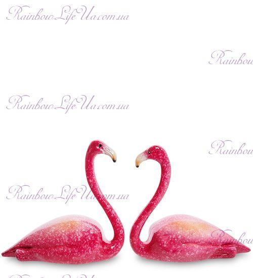 """Фигурка пара фламинго """"MN"""""""
