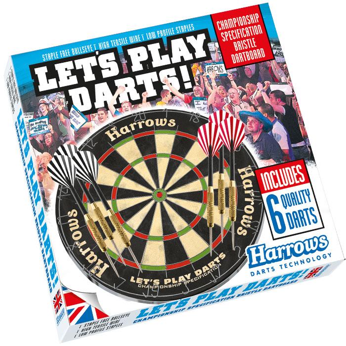 Набор Для Игры в Дартс Harrows Let's Play Darts Game Set
