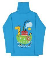 Водолазка для мальчика 1-4 лет  BN1137 голубая